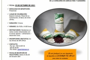 JORNADA AGRICULTURA Y CONSUMO DE LEGUMINOSAS EN LA PROVINCIA DE ÁVILA. EL BARCO DE ÁVILA